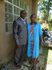 Mbondo and  wife Patricia.JPG